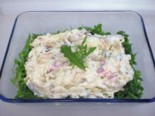 salat mit salat resteverwertung