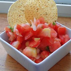 salsa aus frischen tomaten