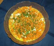 schinas lauwarmer möhrensalat mit eiern