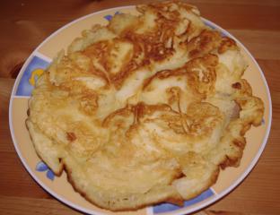 schnelle apfelpfannkuchen