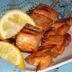 schnelle fisch kebabs
