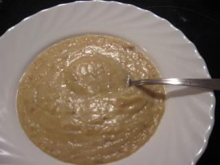 schnelle kartoffelcremesuppe