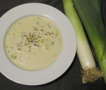 schnelle käse lauch suppe mit hack wie angebraten