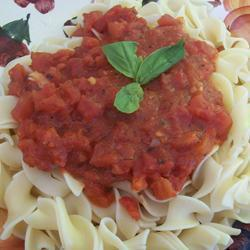 schnelle scharfe spaghetti arrabiata