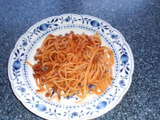 schnelle spaghetti mit hackfleischsoße
