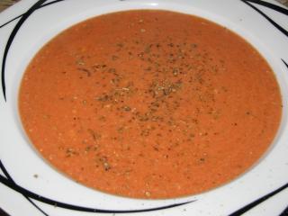schnelle tomaten mozarelle frischkäsesuppe
