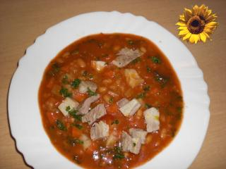 schnelle weiße bohnensuppe mit bauchfleisch