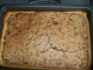 schneller blätterteig blechkuchen
