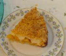 schneller käse pfirsich kuchen