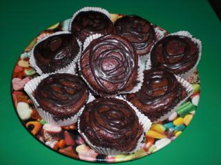schoko bananen vollkorn muffins