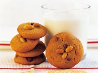schoko erdnuss cookies