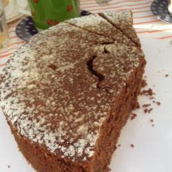 schoko nuss kuchen mit quark