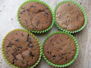schoko nuss mandel muffins