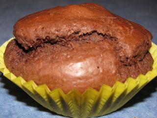 schokoladenmuffins mit nougatfüllung