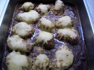 schweinefiletmedaillons mit käsehaube resteverwertung für saucen