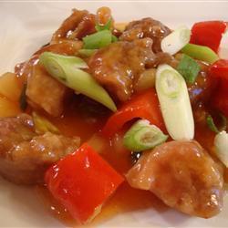 schweinefleisch süß sauer auf chinesische art