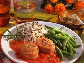 schweinemedaillons auf tomatensoße