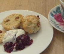 scones for tea