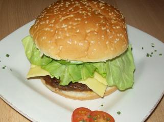 selbstgemachte hamburger
