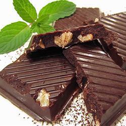 selbstgemachte zartbitter schokolade