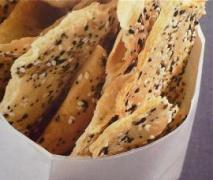 sesam mohn kräcker aus internationale rezeptwelt