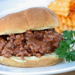 sloppy joe für kinder