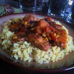 slow cooker huhn auf lateinamerikanische art