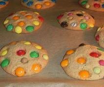 smartie m amp m cookies