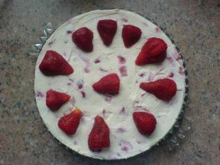 sommer erdbeer torte