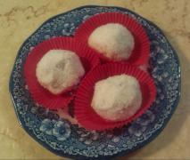 sommerliche kokosballen kleine törtchen