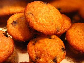 sommerliche mini obst muffins