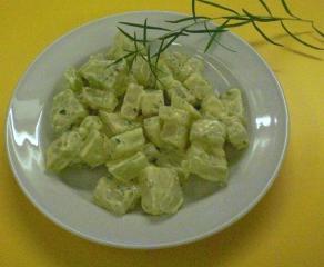 sommerliche zucchinisuppe