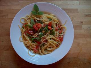 frutti di mare in sahneauce zu spaghetti alfons schuhbeck
