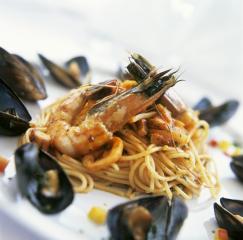spaghetti meeresfrüchte spaghetti frutti di mare