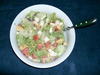spanischer salat mit thunfisch