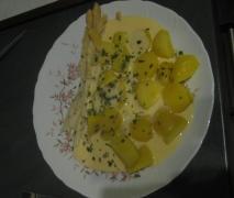 spargel kartoffeln und käsesoße schnell lecker