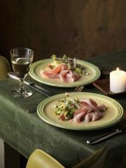 spargelsalat mit gekochtem schinken