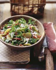 speck rucola salat