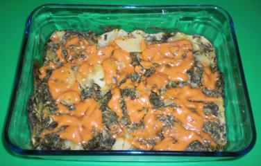 spinat fisch gratin