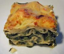 spinat lasagne low carb