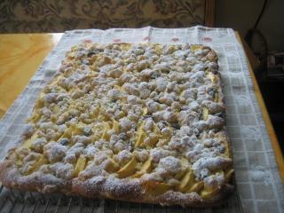 streusel apfelkuchen