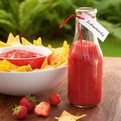 süß pikantes erdbeerketchup