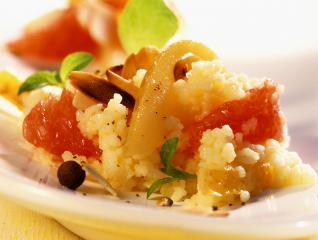 süßes couscous mit blutorange und piment