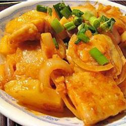 süß saures fischfilet auf chinesische art