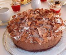 sündige schokomousse torte für schokoholics