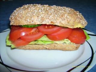 super veggie sandwich