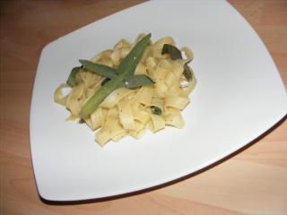 tagliatelle mit salbei und butter extrem simpel