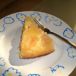 tarte tatin umgedrehter apfelkuchen
