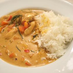 thai erdnuss curry