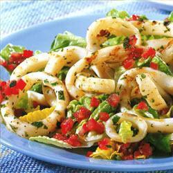 tintenfisch salat pulpo